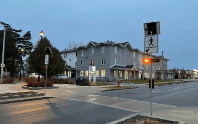 Sécurité routière : deux nouvelles traverses clignotantes