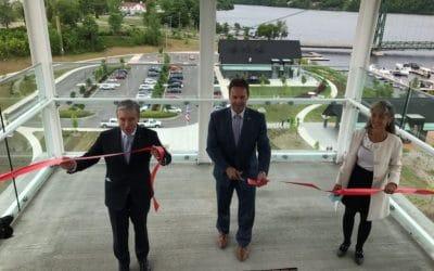 Inauguration officielle au parc des Papetiers