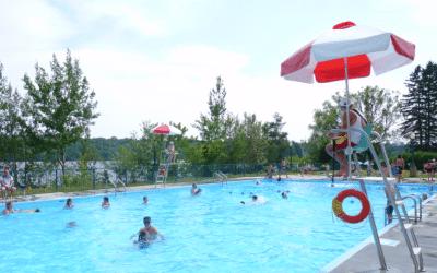 Fermeture des piscines extérieures aujourd'hui