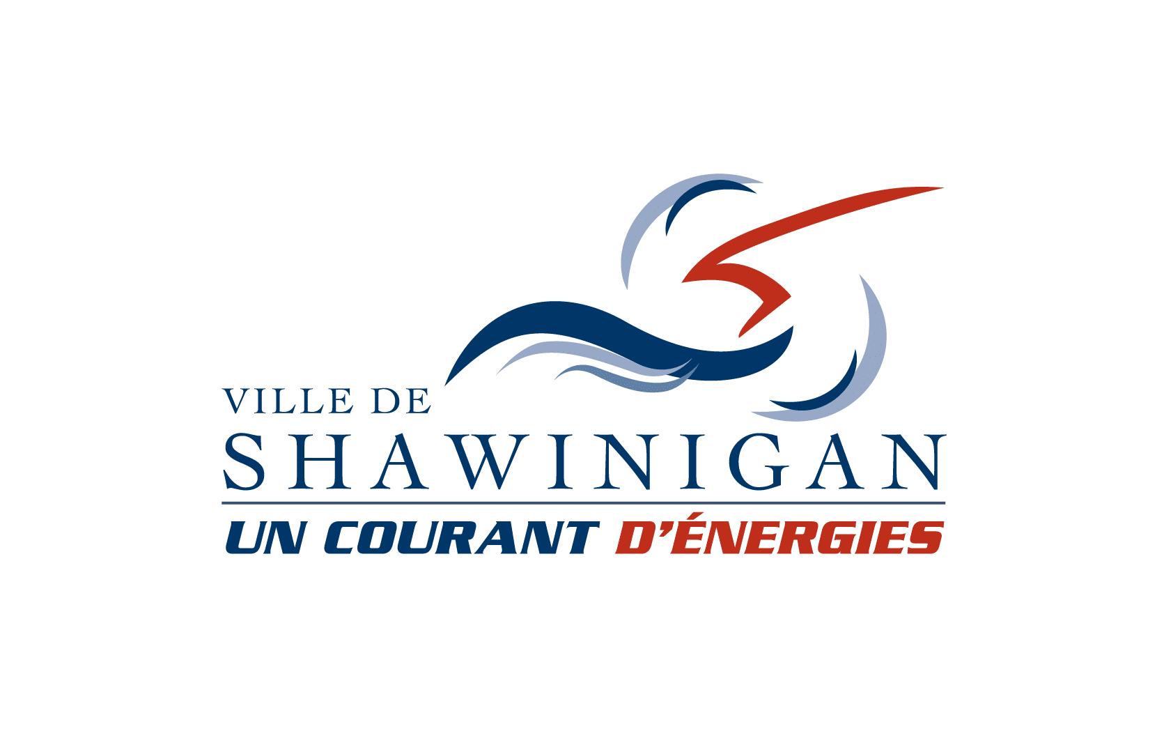 Logo de la Ville de Shawinigan en couleur, 800 x 500 pixels