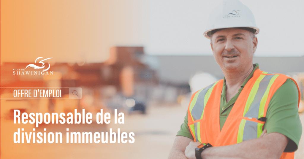 Offre d'emploi : Responsable de la division immeubles