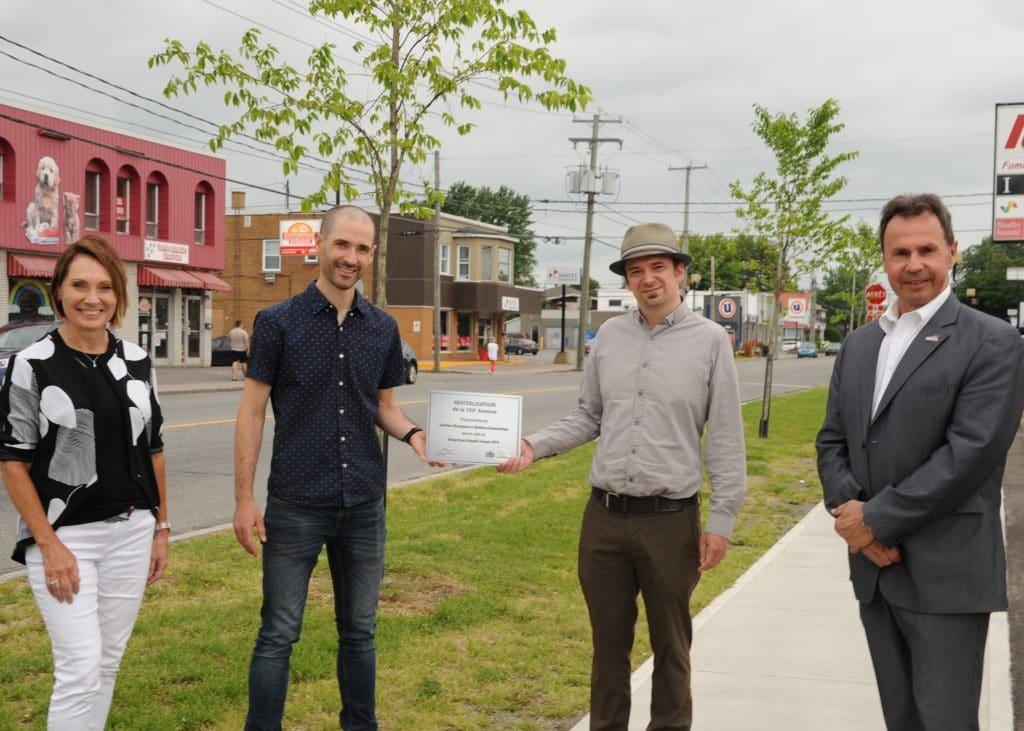 Inauguration du projet de Revitalisation de la 105e Avenue