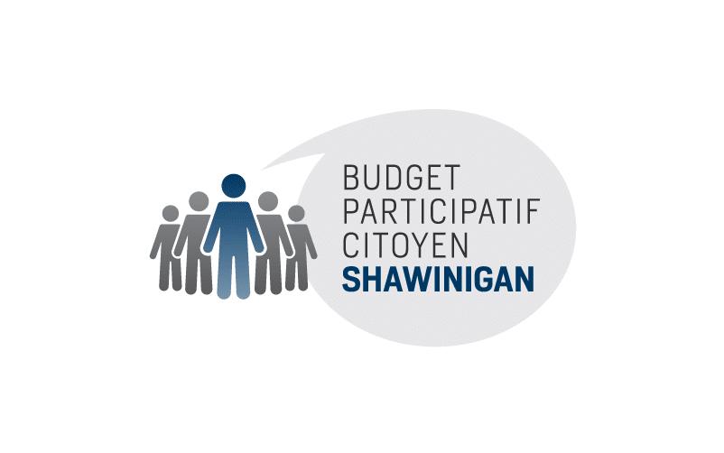 Logo du Budget participatif citoyen Shawinigan