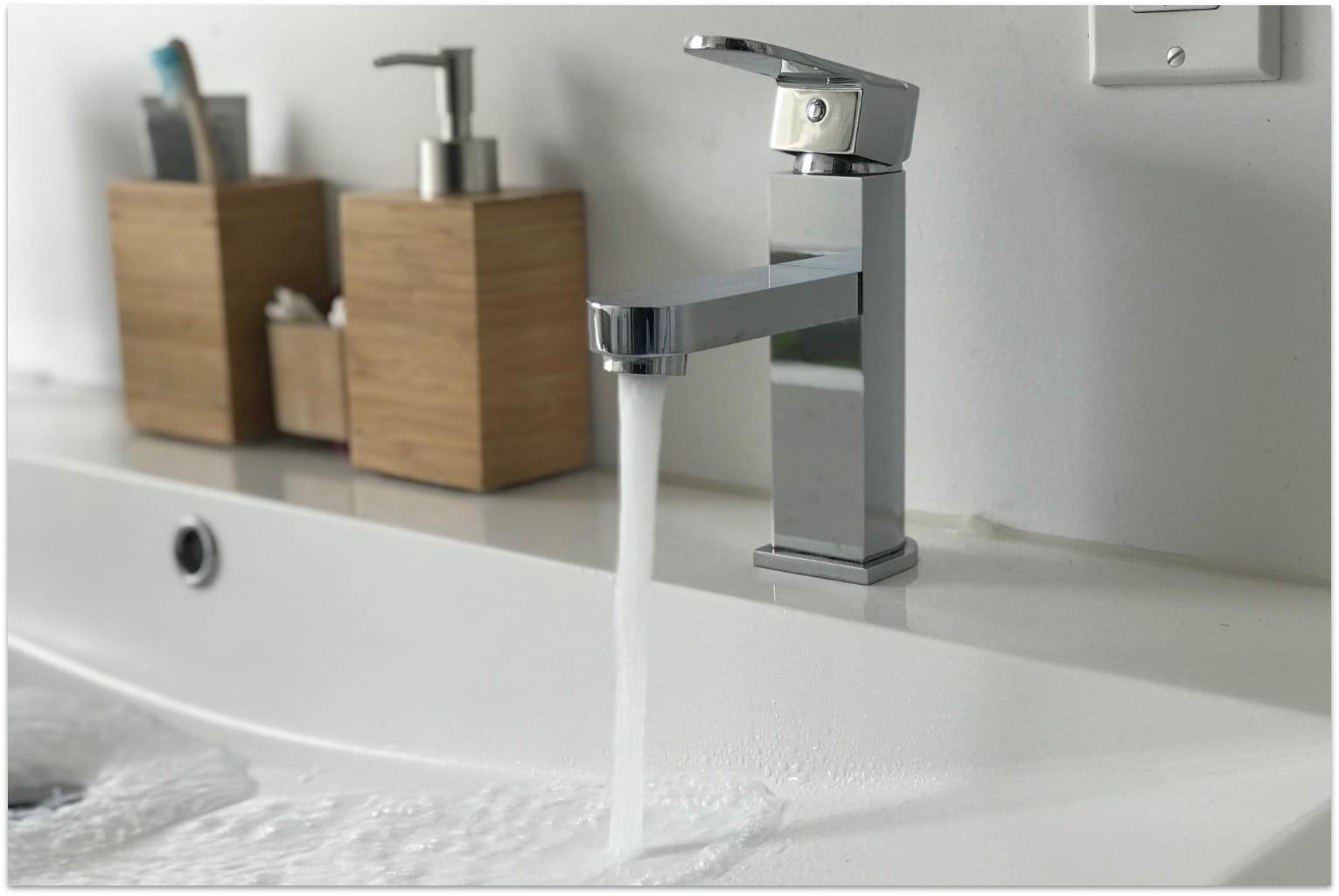 Robinet d'eau potable