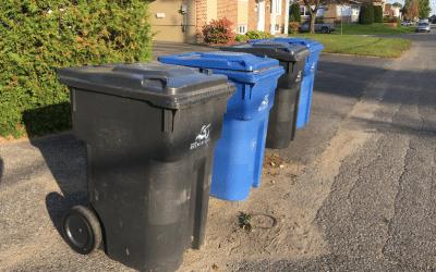 Collecte des déchets toutes les deux semaines dès la mi-octobre