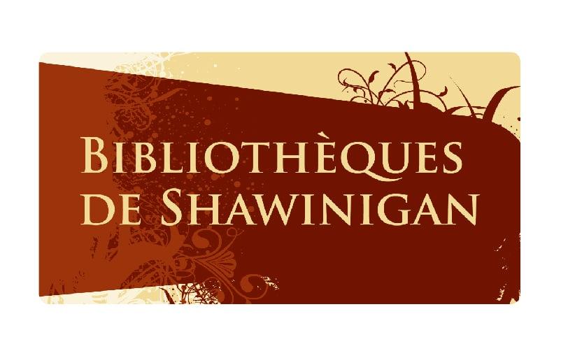 Logo des bibliothèques de Shawinigan