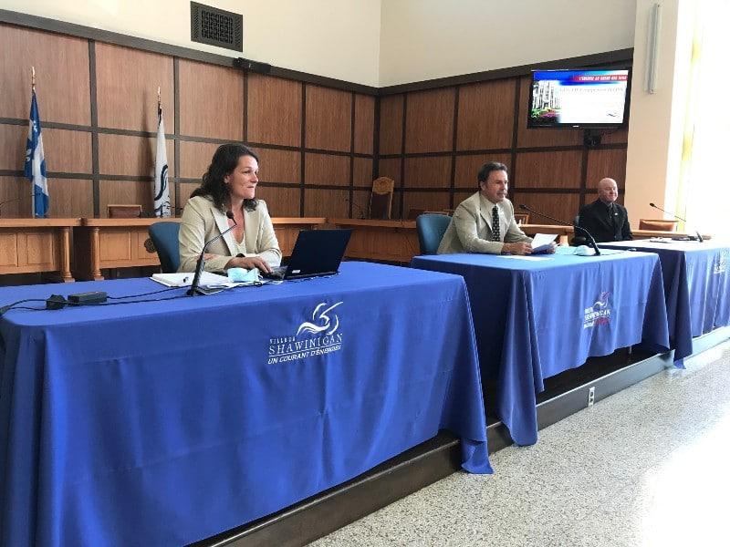conférence de presse sur l'Inventaire des GES et les Stratégies de développement durable